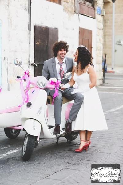 תמונה מתוך החתונה של נופר ונרי