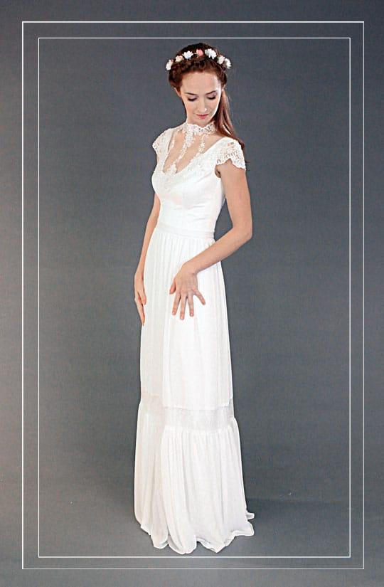 שונות שמלות כלה וינטאג עיצובים חדשים מדהימים - המעצבת רינה בהיר CO-75