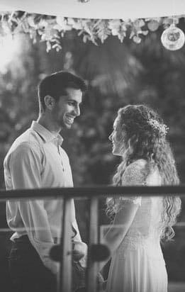 תמונה מתוך החתונה של רותם וגבי, החופה