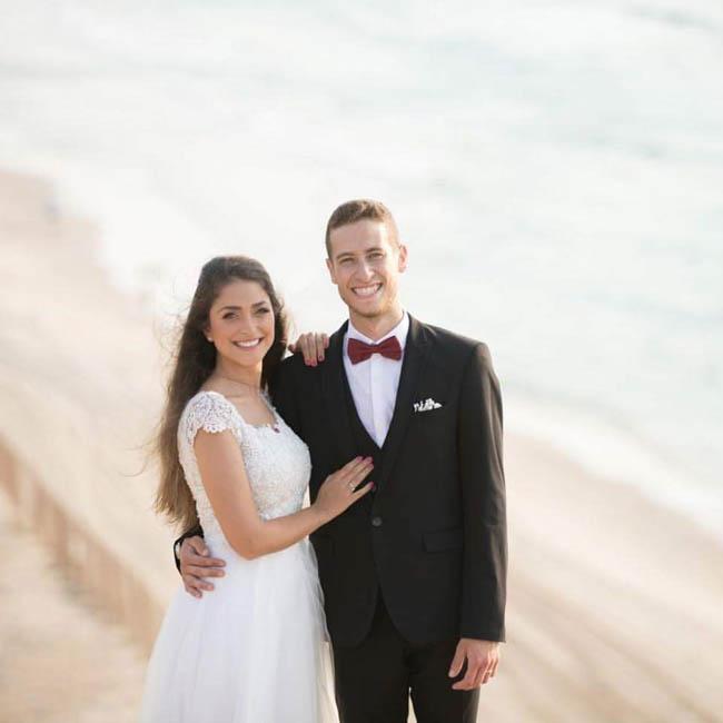 תמונה עטרת ודור ביום הצילומים, רגע לפני החתונה, מרגש