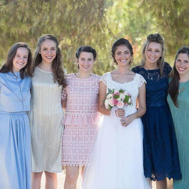 תמונה עטרת ודור ביום הצילומים, רגע לפני החתונה, מרגש מאוד